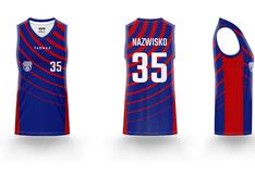Koszulka do koszykówki D PRO 4